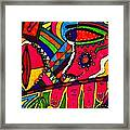 Driven To Abstraction - Parts And Pieces Framed Print
