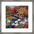 Dry Run Creek Framed Print