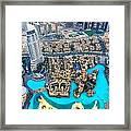 Dubai Downtown - Uae Framed Print