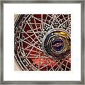 Duesenberg Wheel Framed Print