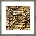 Dune Steps 05 Framed Print