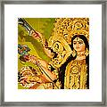 Durga Idol Framed Print