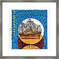 Dutch Dirk Hartog Sailing Ship Framed Print