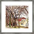 Early Spring Street Framed Print