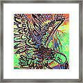Earth Eagle Framed Print