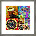 Eat Drink Play Repeat 20140705 Framed Print