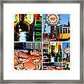 Eat Drink Play Repeat San Francisco 20140713 Vertical V1 Framed Print