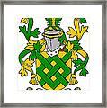 Eaton Coat Of Arms Irish Framed Print