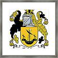 Echlin Coat Of Arms Irish Framed Print