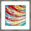 Eclectic Rays  Framed Print