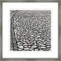 Edge Of The Old Stone Road Framed Print