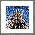 Edinburgh's Christmas Ferris Wheel Framed Print
