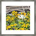 Eiffel Flower Framed Print