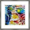 Elepant Abstract Framed Print