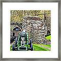 Elephant And Cannon Of The Tower Framed Print