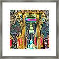 Emerald Buddha In Royal Temple At Grand Palace Of Thailand Framed Print