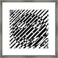 Emoticon So Very Funny Maze  Framed Print