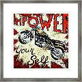 Empower Your Self Framed Print by Janet  Kruskamp