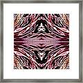 Empress Abstract Triptych Framed Print