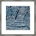 Enchanted Forest In The Winter Framed Print