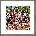 Enchanted Realm Framed Print
