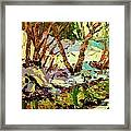 End Of Winter Framed Print by Brian Simons
