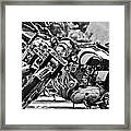 Enfield Motorcycles Framed Print