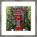 Entry Gate By Potala Palace In Lhasa-tibet Framed Print