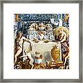 Eros And Psyche Framed Print