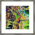 Erotic Devoted To To Dance And Music Framed Print