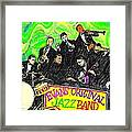 Evans Original Jazz Band Framed Print