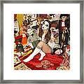 Evil Schoolgirl 166 Framed Print