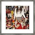 Evil Schoolgirl 274 Framed Print