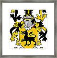 Ewers Coat Of Arms Irish Framed Print