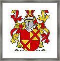 Ewing Coat Of Arms Irish Framed Print