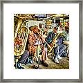 Excelsior Band 5 Piece Framed Print
