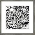 Exit The Reality Framed Print