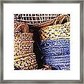 Exotic Baskets Framed Print