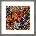 Explosive Chaos Framed Print