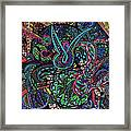 Exporation Of The Deep Blue Framed Print