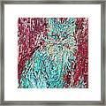 Expressionist Cat Oil Painting.3 Framed Print