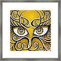Expressive Eyes Framed Print