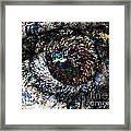 Eye Of A Hurricane Called You Framed Print