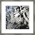 Eyjafjallajokull Glacier And Ashes Framed Print
