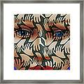 Face # 3 Framed Print