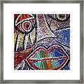 Faces In Life Collection Framed Print