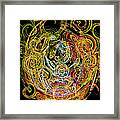 Faces Of Life Framed Print