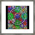 Faces Of Time 3 Framed Print