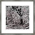 Facing The Unknown Framed Print