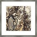 Fafner Hey! Come Hither, And Stop Framed Print